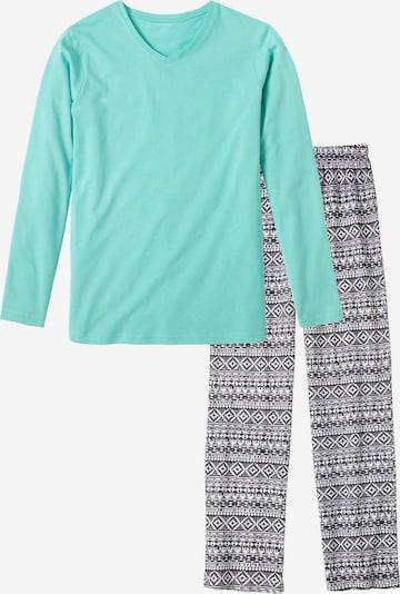 BUFFALO Pyjama in türkis, Produktansicht
