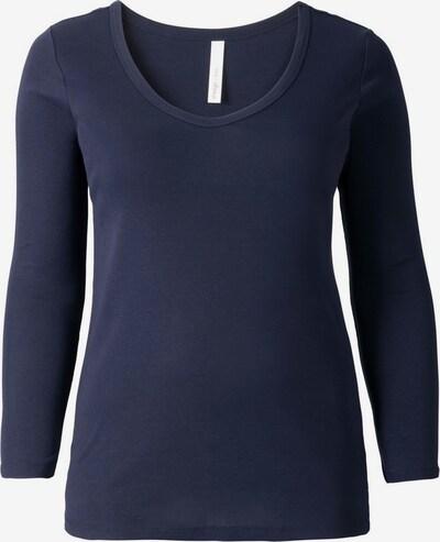 SHEEGO T-shirt en marine, Vue avec produit