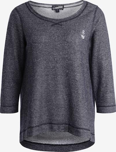 DREIMASTER Sweatshirt in taubenblau, Produktansicht