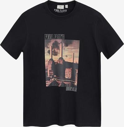 MANGO MAN T-Shirt 'PINK' en noir, Vue avec produit