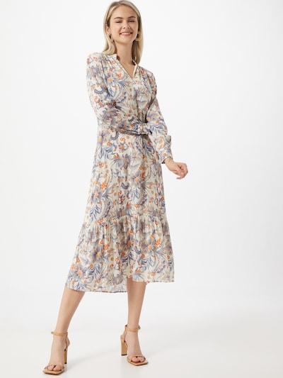 Rich & Royal Robe en bleu / mélange de couleurs: Vue de face