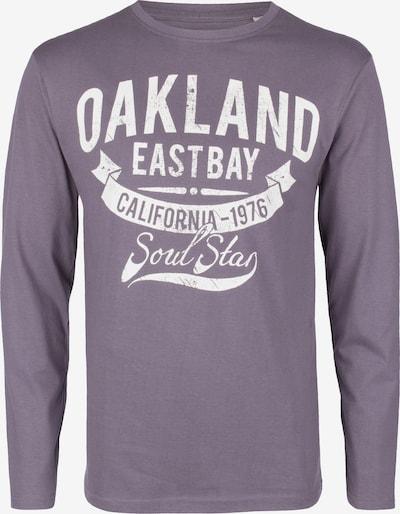 SOULSTAR Shirt in de kleur Grijs / Sering / Wit, Productweergave