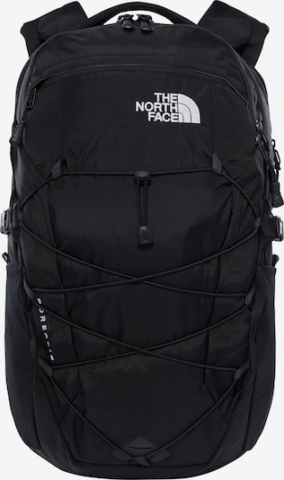 THE NORTH FACE Sportryggsäck 'Borealis' i svart / vit, Produktvy