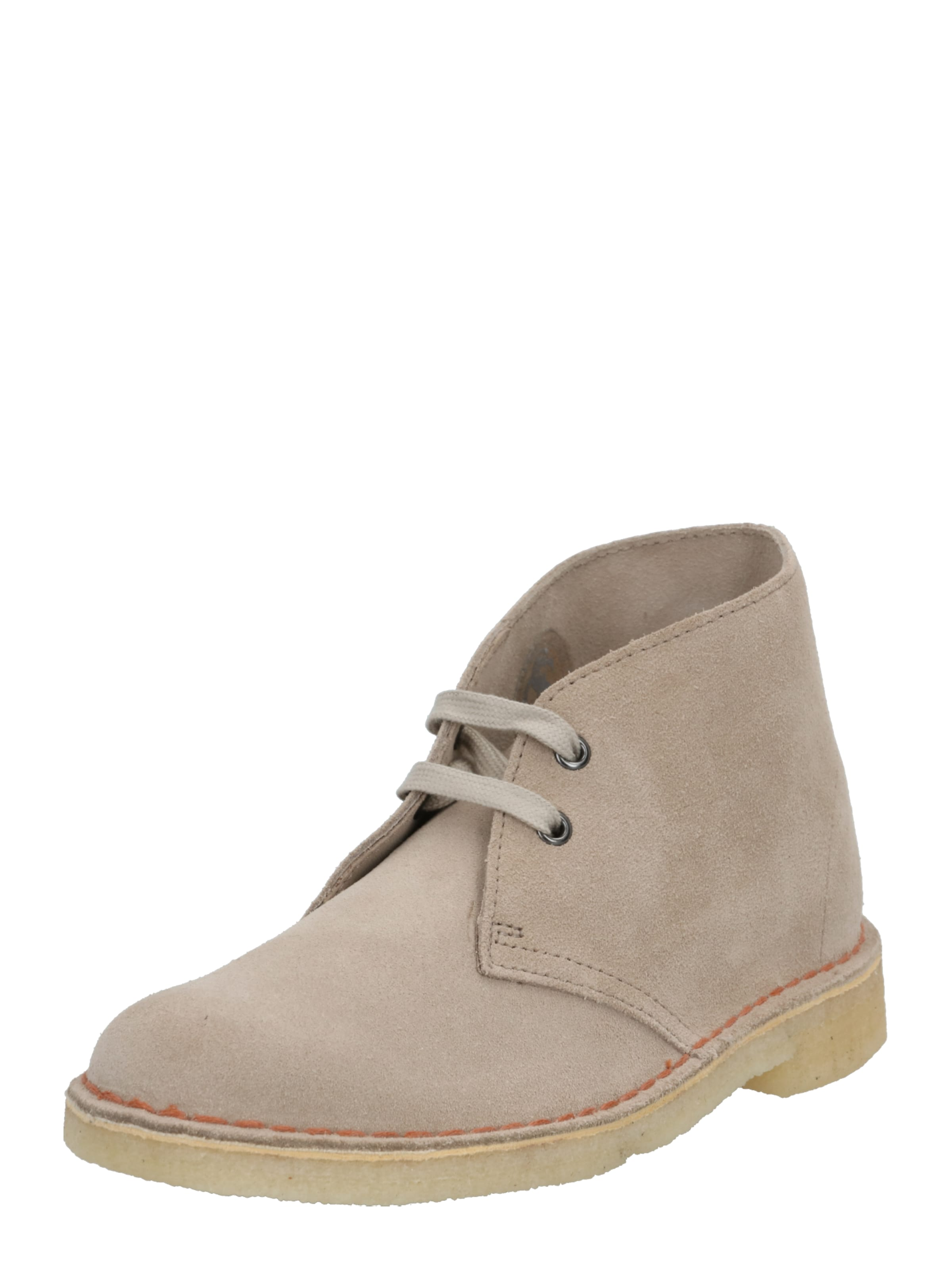 Clarks Originals Fűzős cipő 'Desert Boot' homok színben