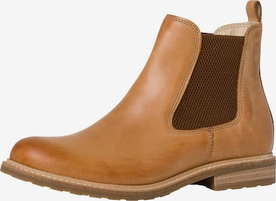 TAMARIS Chelsea Boots in cognac / dunkelbraun, Produktansicht