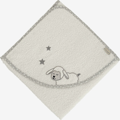 STERNTALER Badetuch 'Stanley' in ecru / graumeliert, Produktansicht