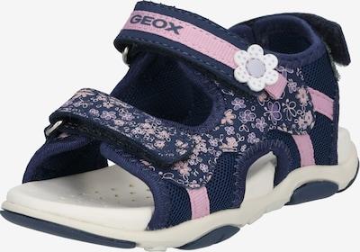 GEOX Sandale 'Agasim' in navy / rosa, Produktansicht