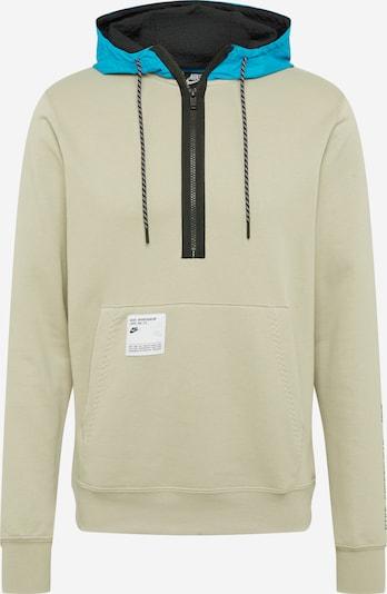 Nike Sportswear Bluzka sportowa w kolorze jasnoniebieski / kamień / czarnym, Podgląd produktu
