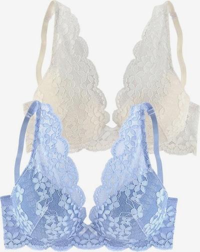 PETITE FLEUR BH in de kleur Crème / Hemelsblauw, Productweergave