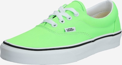 VANS Baskets basses 'UA Era' en vert / blanc, Vue avec produit