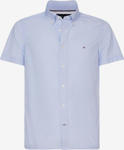 TOMMY HILFIGER Hemd in rauchblau / weiß, Produktansicht