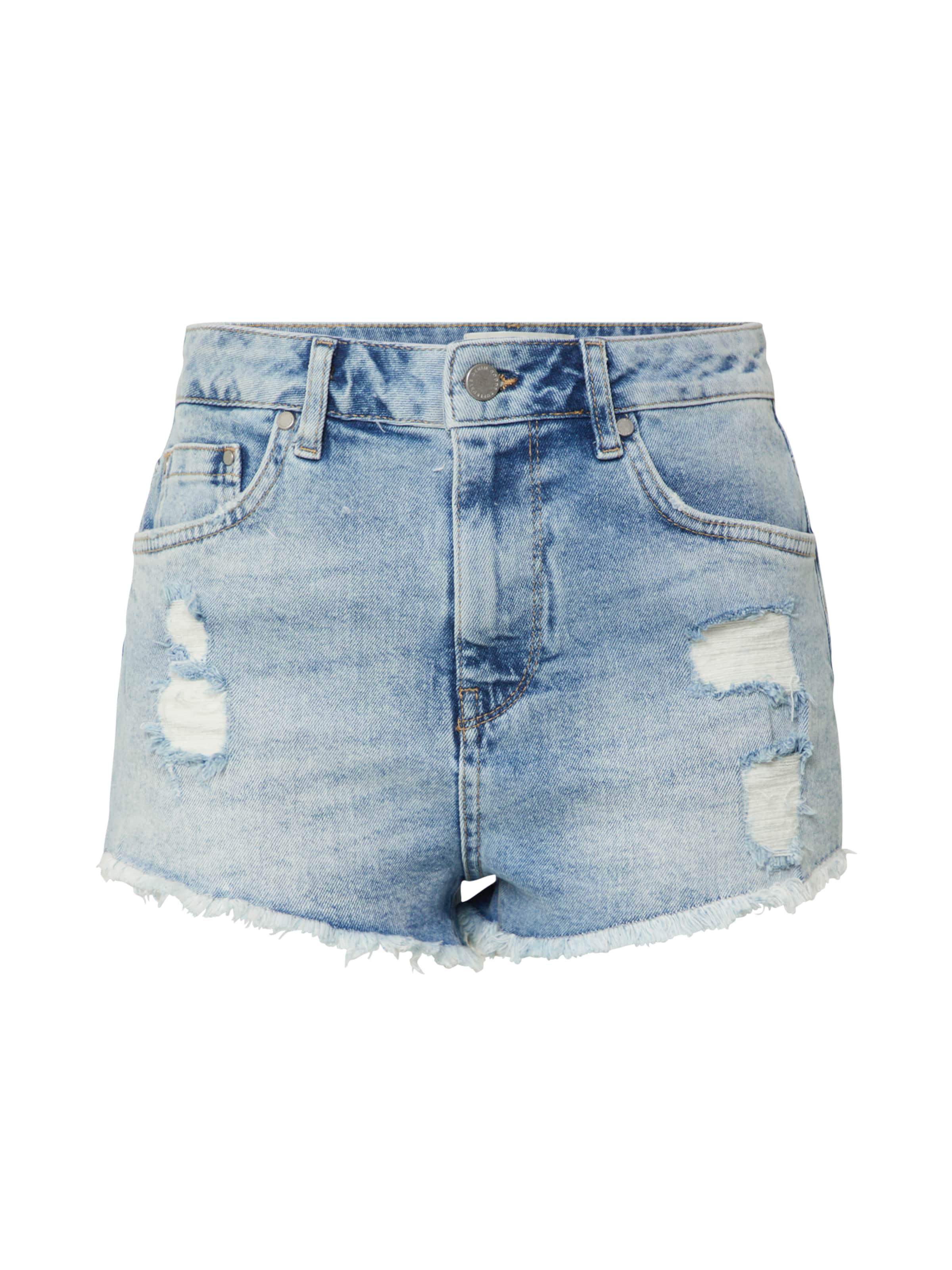 Superdry Jeans 'Cut Off Short' i blå denim