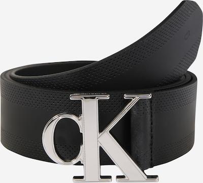Calvin Klein Jeans Ledergürtel 'Gym Class Monogram 35mm' in schwarz, Produktansicht