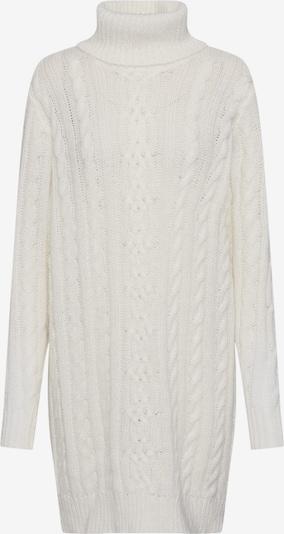 OBJECT Adīta kleita 'OBJKIARA L/S KNIT DRESS A AU' pieejami balts: Priekšējais skats
