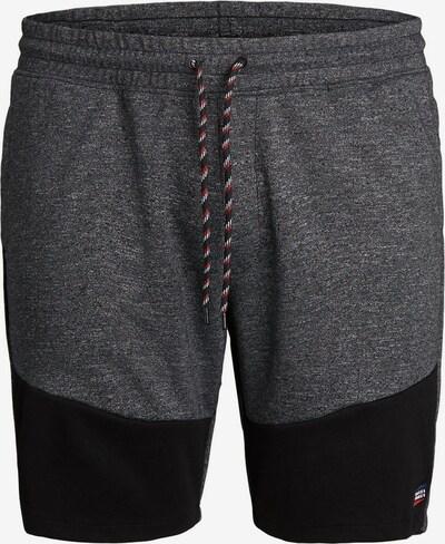 JACK & JONES Kordelzug Plus size Shorts in grau: Frontalansicht