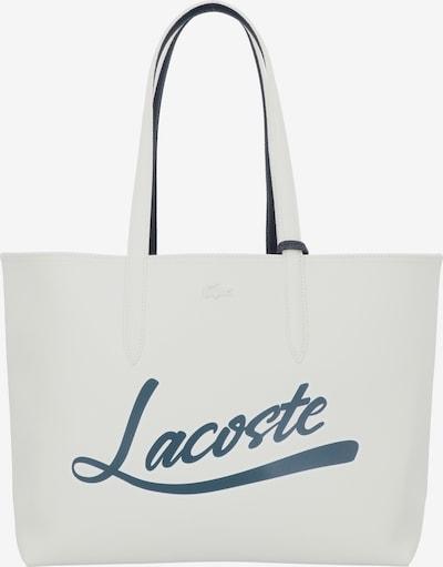 LACOSTE Shopper 'Access Premium' in anthrazit / weiß, Produktansicht