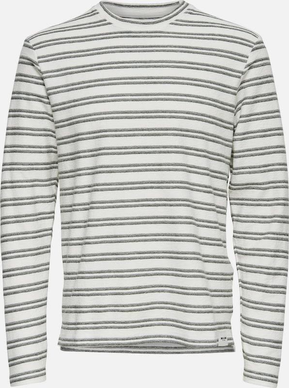 Only & Sons Sweatshirt Gestreiftes
