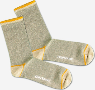 DillySocks Socks 'Sweet Playground' in yellow / green, Item view