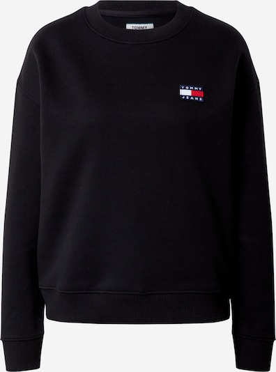 Tommy Jeans Sweat-shirt en noir: Vue de face
