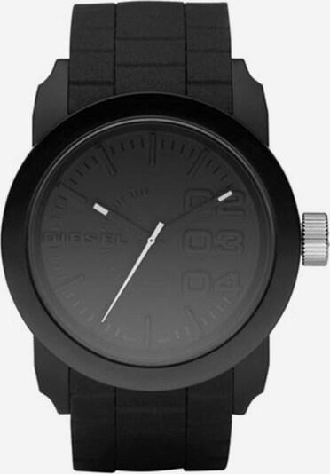 DIESEL Uhr 'DOUBLE DOWN' in grau / schwarz, Produktansicht