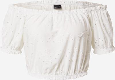Gina Tricot Haut 'Irja' en blanc, Vue avec produit