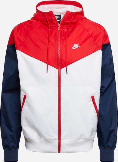 Nike Sportswear Jacke in navy / rot, Produktansicht