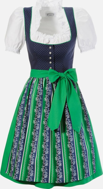 Hannah Short Dirndl Made Of Pure Cotton