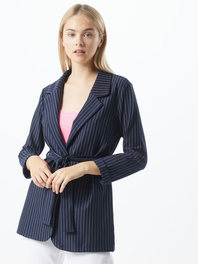 NEW LOOK Blazer in blau / weiß, Modelansicht