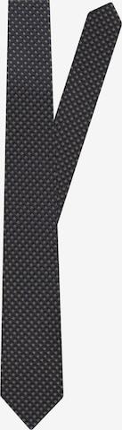 SEIDENSTICKER Krawatte 'Schwarze Rose' in Blau