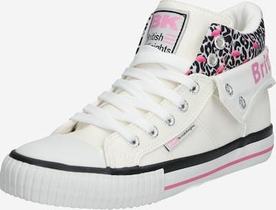BRITISH KNIGHTS Sneaker 'ROCO' in pink / schwarz / weiß, Produktansicht