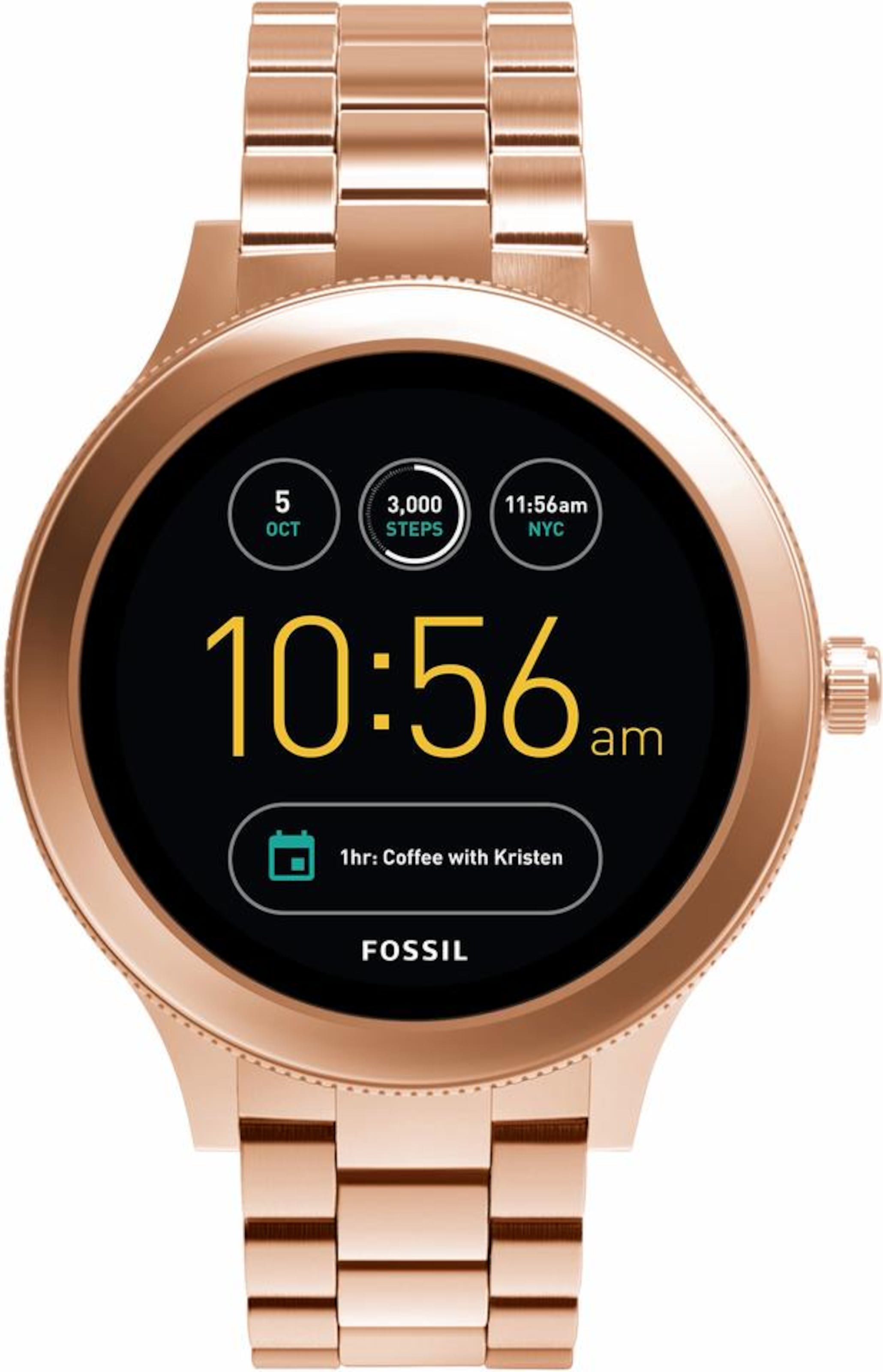 Fossil Q Q VENTURE, FTW6000 Smartwatch (Android Wear)
