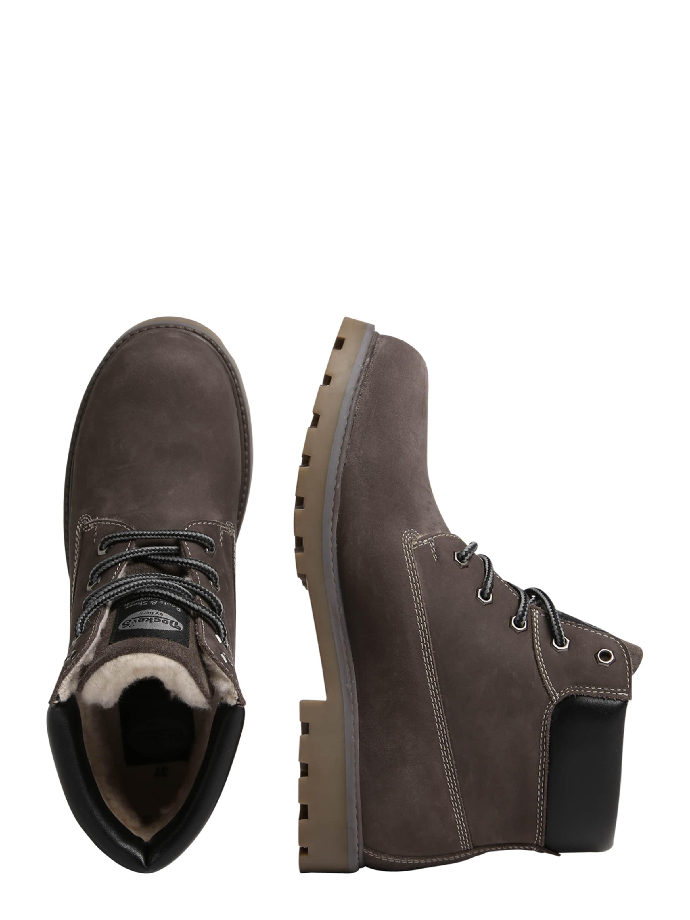 Dockers Brun Foncé Boots Gerli En By 5L4RA3j