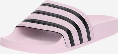 ADIDAS ORIGINALS Badeschuh 'Adilette' in rosa / schwarz, Produktansicht