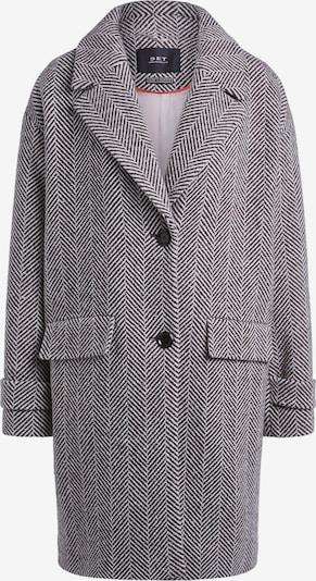 SET Mantel in grau / weiß, Produktansicht