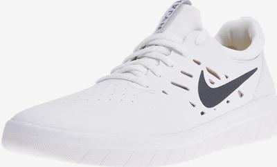 Nike SB Sneaker 'Nyjah Free' in weiß: Frontalansicht