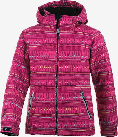 KILLTEC Outdoorjacke in dunkelpink, Produktansicht
