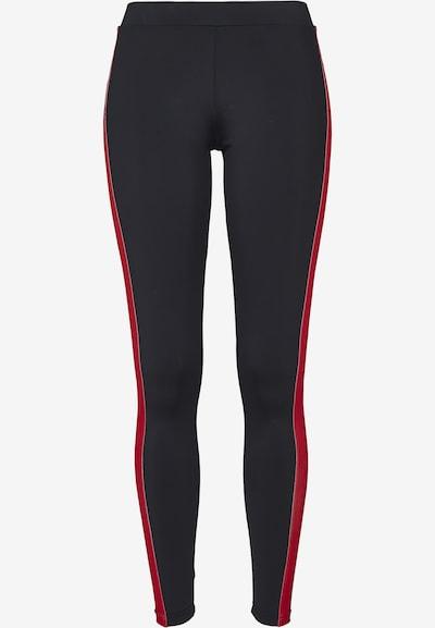 Urban Classics Leggings in mint / rot / schwarz, Produktansicht