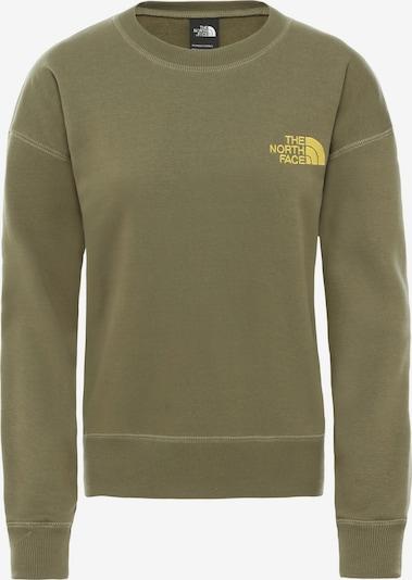 THE NORTH FACE Sweatshirt 'Parks Slightly' in oliv, Produktansicht