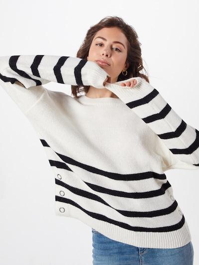 NEW LOOK Pullover in schwarz / weiß, Modelansicht