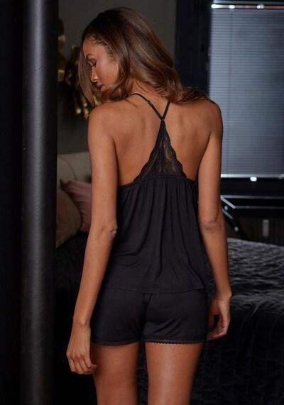 Lenjerie sexy LASCANA pe negru, Vizualizare produs