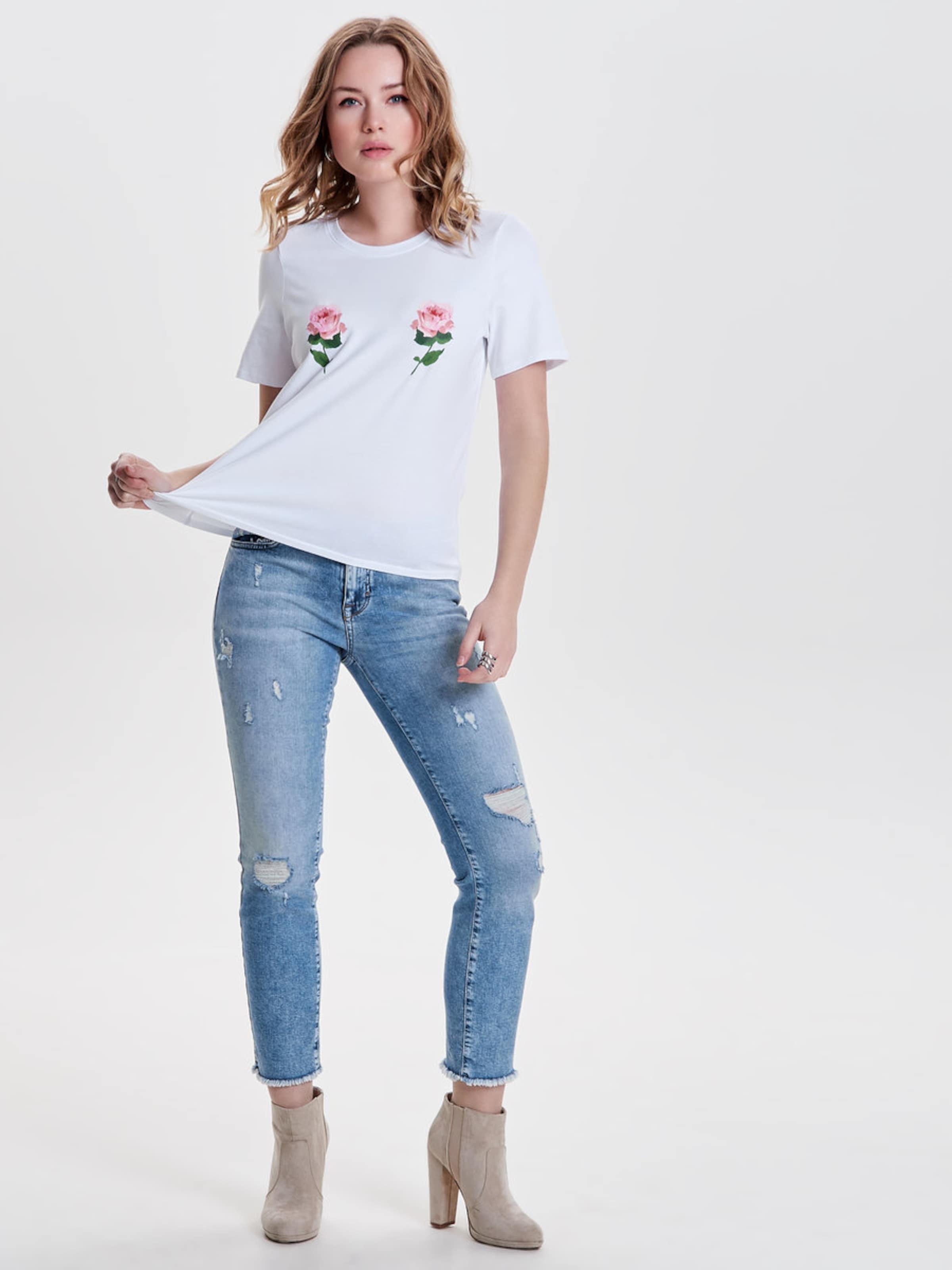 ONLY T-Shirt 'NANY' Günstig Kaufen Niedrigen Preis Versandkosten Für Rabatt Erwerben CeZwoI