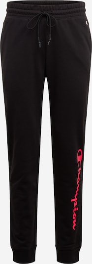Champion Authentic Athletic Apparel Sweatpants in pink / schwarz, Produktansicht