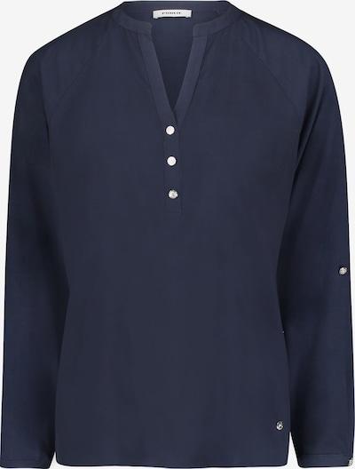 Public Casual-Bluse langarm in blau, Produktansicht