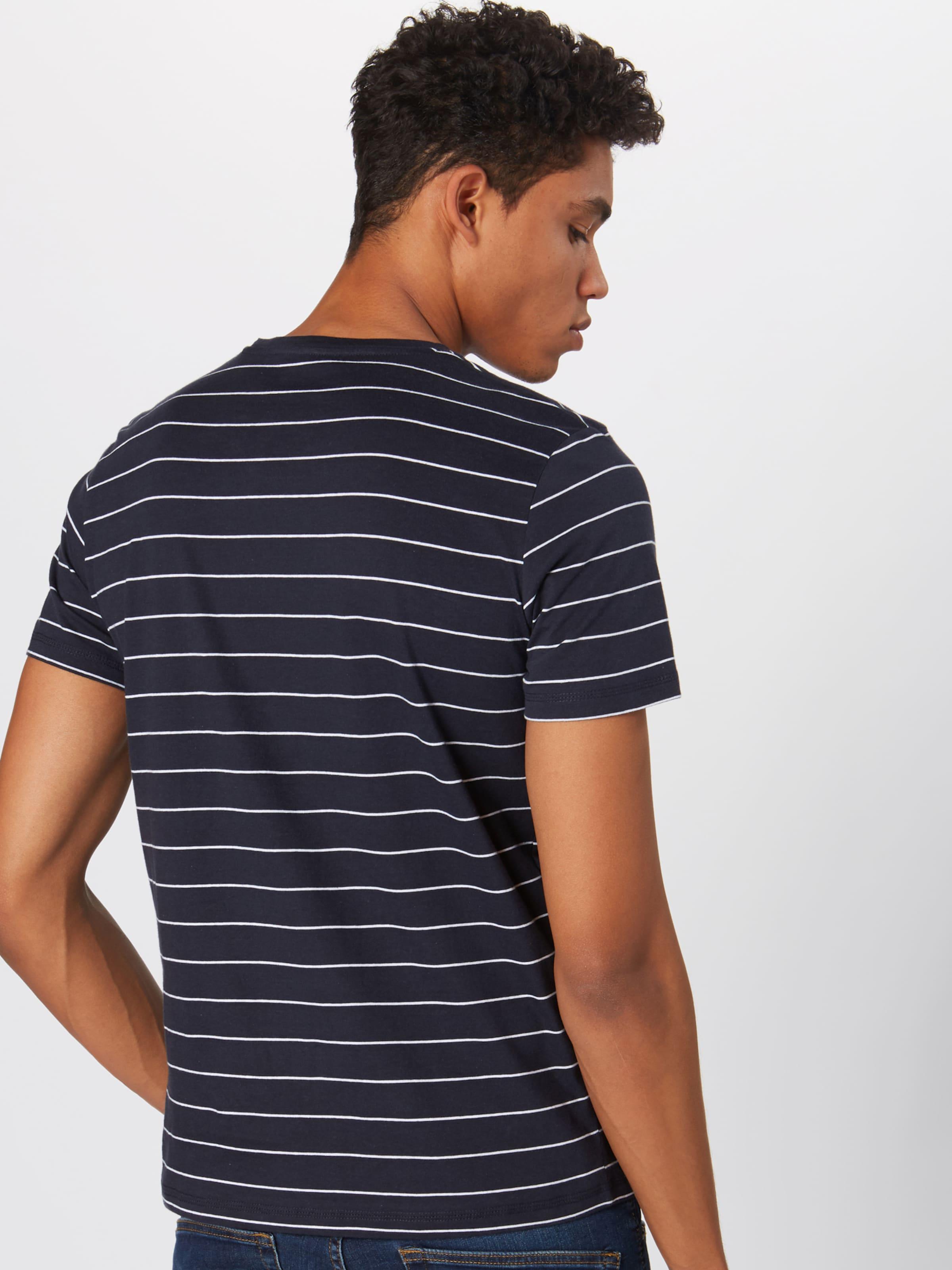 Tee HerrenShirtsamp; 'striped Polos 2' shirt Tom In Tailor NavyGrau T 1 bIYfy7v6g