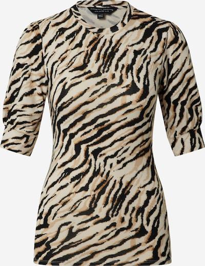 Dorothy Perkins Shirt in beige / braun / hellbraun / schwarz, Produktansicht