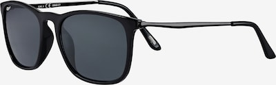 ZIPPO Sonnenbrille 'Smoke Flash Black' in schwarz, Produktansicht