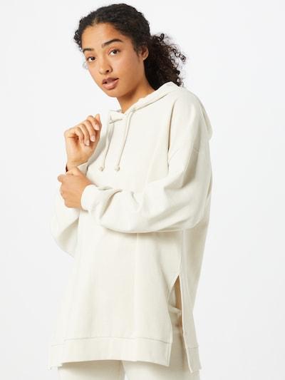 Gina Tricot Sweater majica 'Nala' u bijela, Prikaz modela