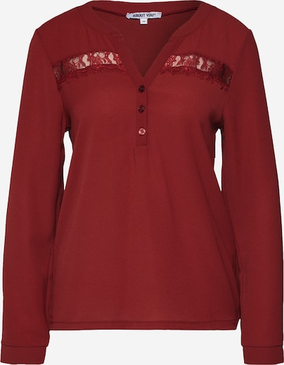 ABOUT YOU Blouse 'Line' in de kleur Rood, Productweergave