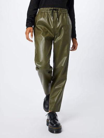 Pepe Jeans Spodnie 'Moira' w kolorze zielonym, Podgląd na modelu(-ce)