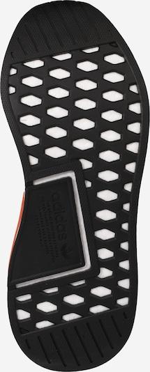 ADIDAS ORIGINALS Sneaker 'NMD R2 PK' in grau / orange / schwarz / weiß: Ansicht von unten